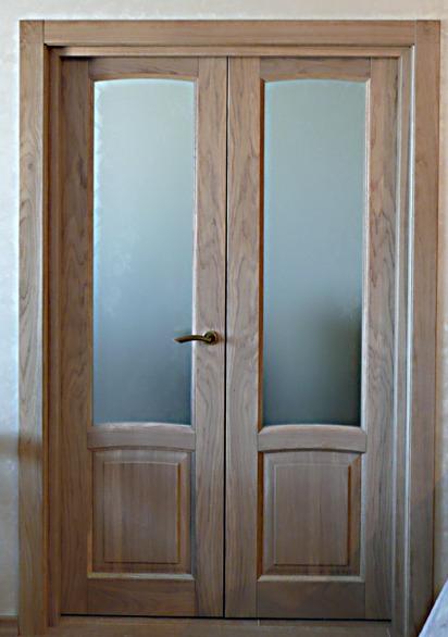 Изготовление на заказ деревянных межкомнатных и входных дверей